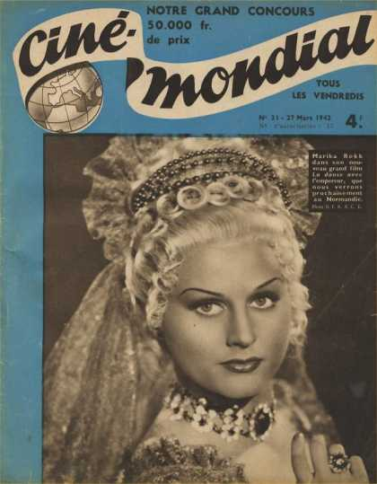 Cine-Mondial 31 - Pictur - Head Band - Necklace - Jewelry - Ring