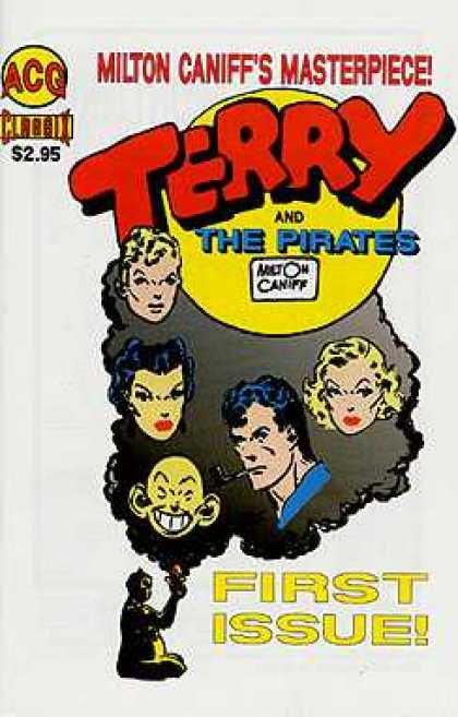 Classic Terry & The Pirates 1 - Women - Men - Lipstick - Pipe - Red