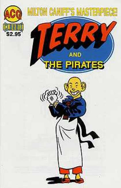Classic Terry & The Pirates 4 - Milton Caniffs Masterpieces - Gloves - Apron - Tie - Person