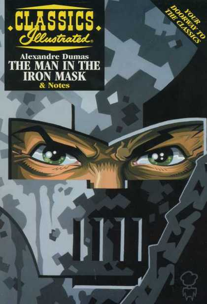 Classics Illustrated II 22 - Alexandre Dumas - The Man In The Iron Mask - Notes - Your Doorway To The Classics - Greenish Eye