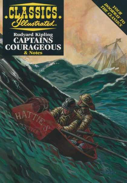 Classics Illustrated II 4 - Captain Courageous - Hatties - Kiping - Water - Sea