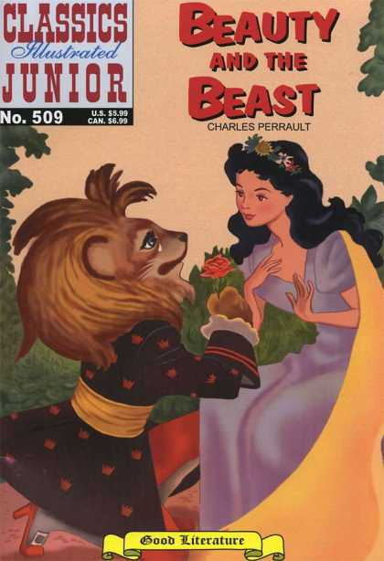 Classics Illustrated Junior - Beauty and the Beast