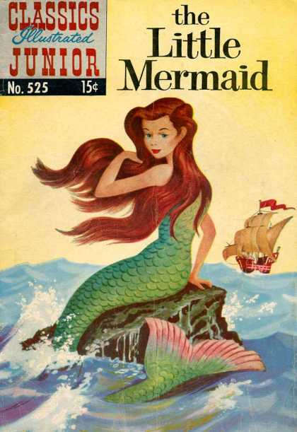 Classics Illustrated Junior - The Little Mermaid