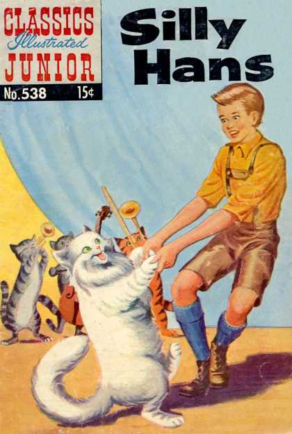 Classics Illustrated Junior - Silly Hans