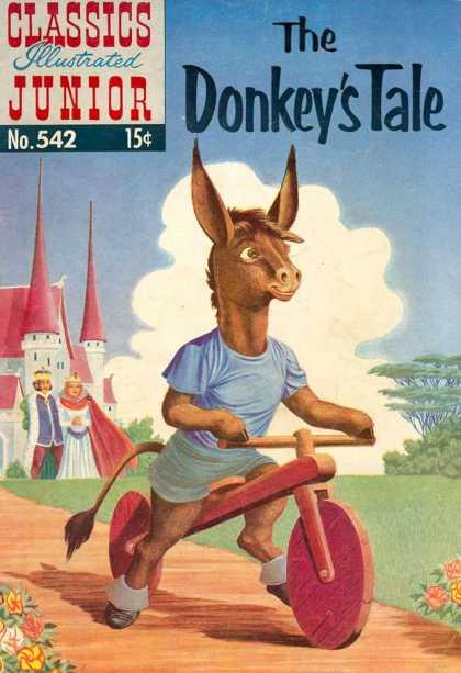 Classics Illustrated Junior - The Donkey's Tale