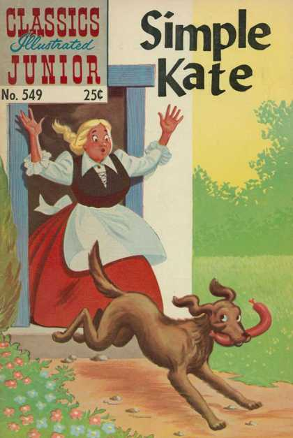 Classics Illustrated Junior - Simple Kate