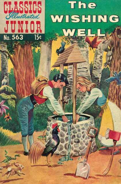 Classics Illustrated Junior - The Wishing Well - Wishing Well - Water - Animals - Youth - Forest