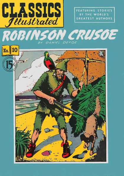 Classics Illustrated - Robinson Crusoe