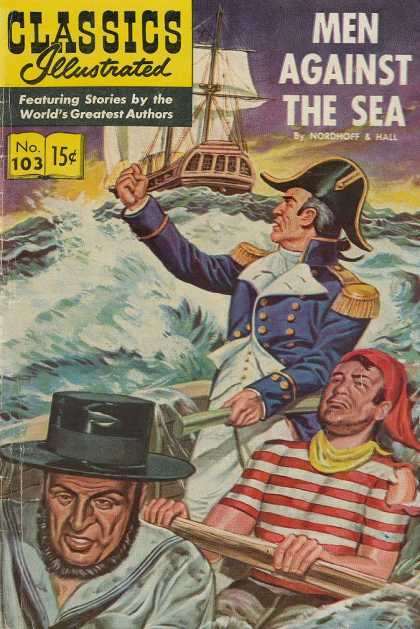 Classics Illustrated - Men Against the Sea