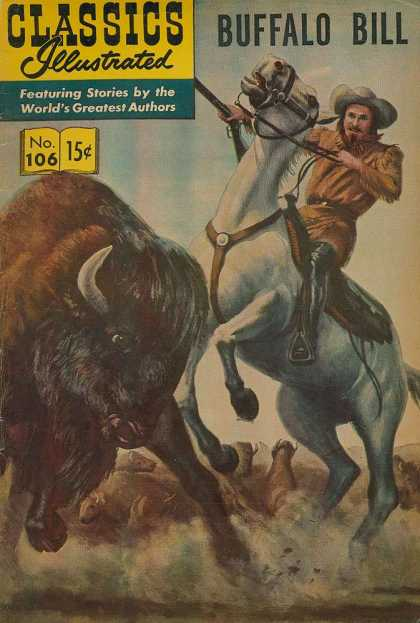 Classics Illustrated - Buffalo Bill