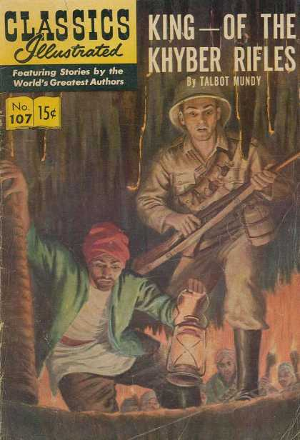 Classics Illustrated - King of the Khyber Rifles