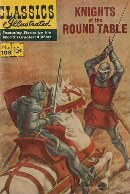 Classics Illustrated - Knights of the Round Table