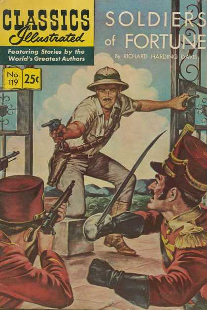 Classics Illustrated - Soldiers of Fortune