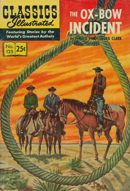 Classics Illustrated - The Ox-Bow Incident