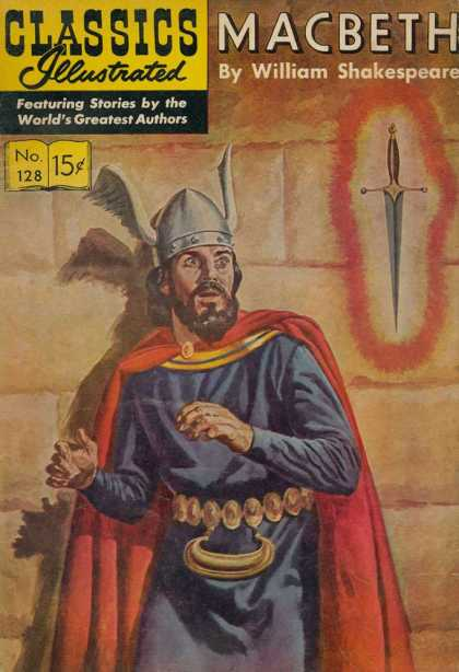 Classics Illustrated - Macbeth - Macbeth - Shakespeare - King - Sword - William