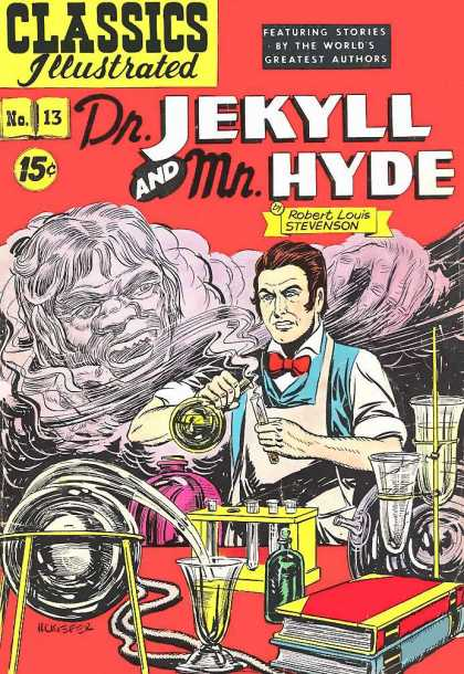 Classics Illustrated - Dr. Jekyll and Mr. Hyde - Rick Geary