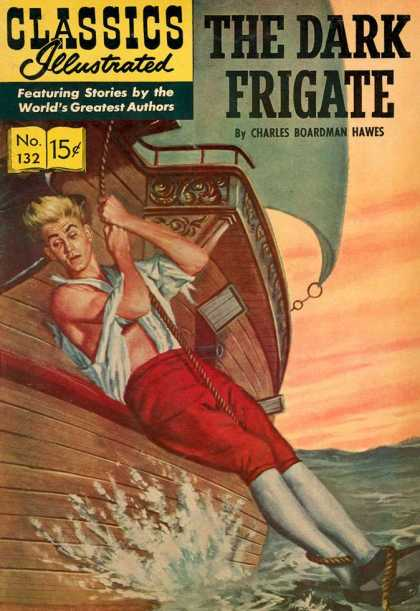Classics Illustrated - The Dark Frigate