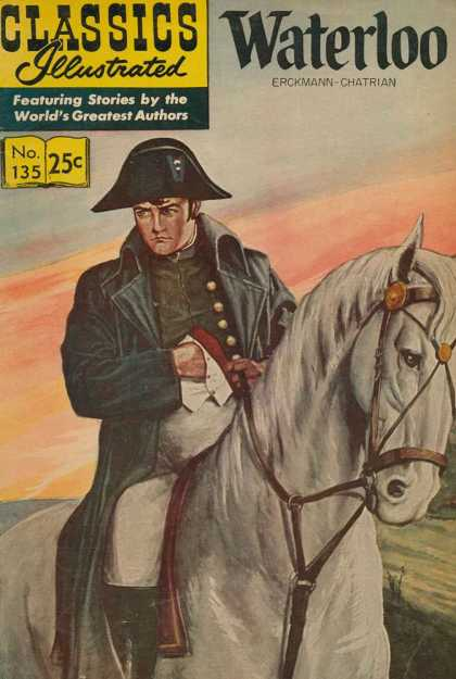 Classics Illustrated - Waterloo - Napoleon - Waterloo - Erckmann - Chatrian - Horse