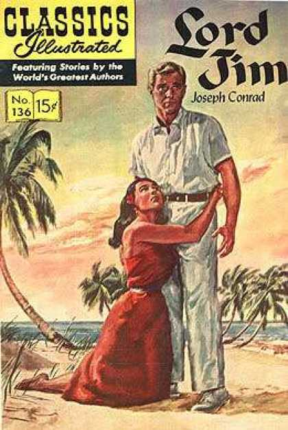 Classics Illustrated - Lord Jim