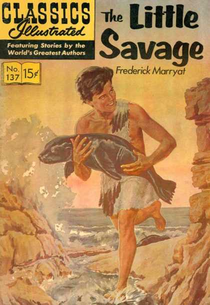 Classics Illustrated - The Little Savage
