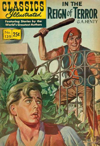 Classics Illustrated - In the Reign of Terror