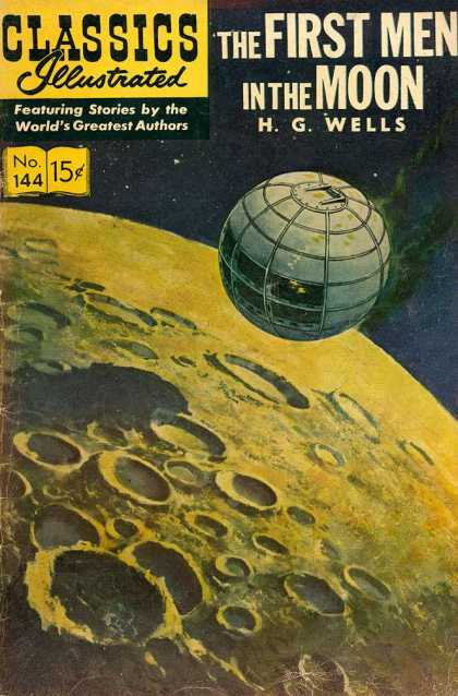 Classics Illustrated - The First Men in the Moon