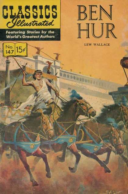Classics Illustrated - Ben Hur