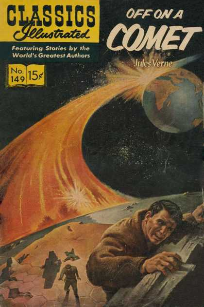 Classics Illustrated - Off On a Comet