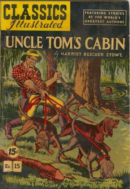 Classics Illustrated - Uncle Tom's Cabin - Gary Gianni