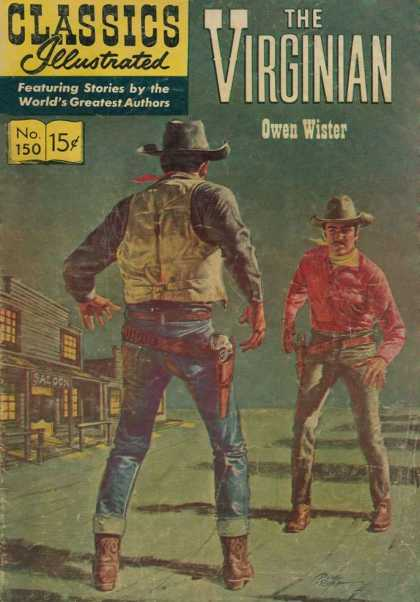 Classics Illustrated - The Virginian
