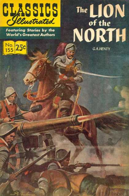 Classics Illustrated - The Lion of the North