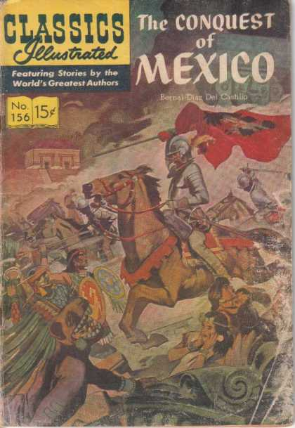 Classics Illustrated - The Conquest of Mexico