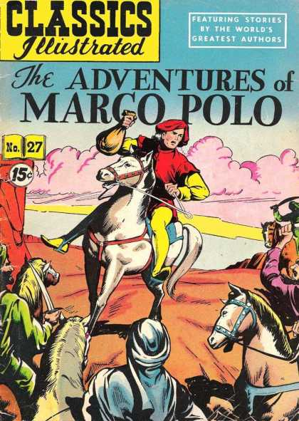 Classics Illustrated - The Adventures of Marco Polo