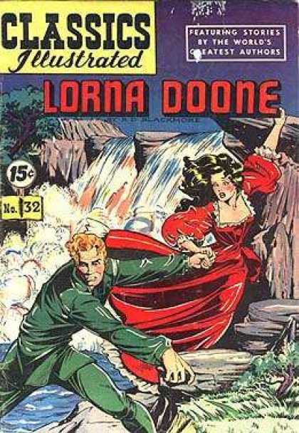 Classics Illustrated - Lorna Doone - Matt Baker