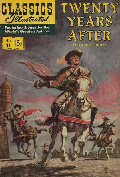 Classics Illustrated - Twenty Years After