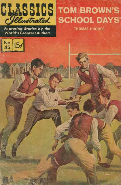Classics Illustrated - Tom Brown's School Days