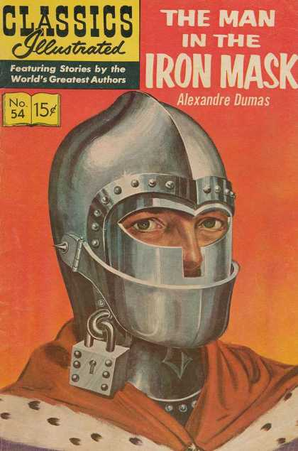 Classics Illustrated - The Man in the Iron Mask