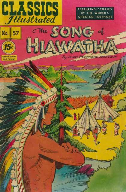 Classics Illustrated - The Song of Hiawatha