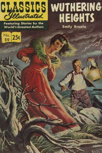 Classics Illustrated - Wuthering Heights