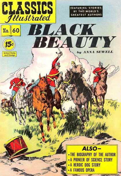 Classics Illustrated - Black Beauty
