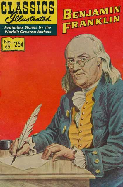 Classics Illustrated - Benjamin Franklin