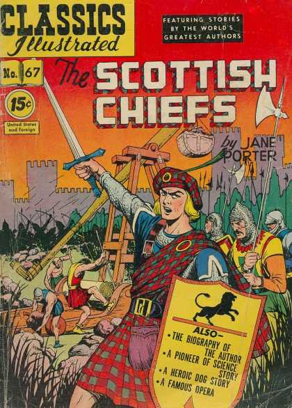 Classics Illustrated - The Scottish Chiefs