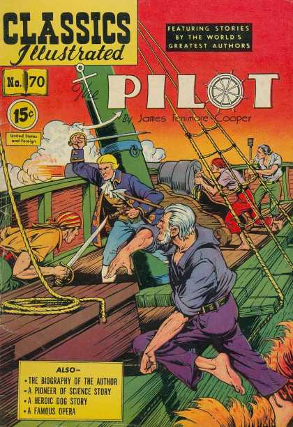 Classics Illustrated - The Pilot