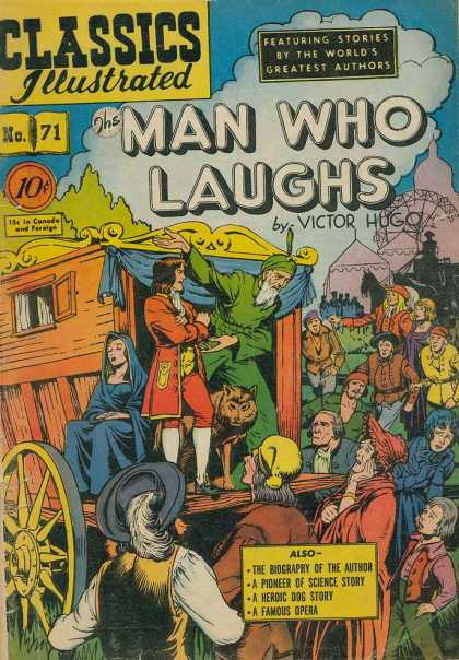 Classics Illustrated - The Man Who Laughs