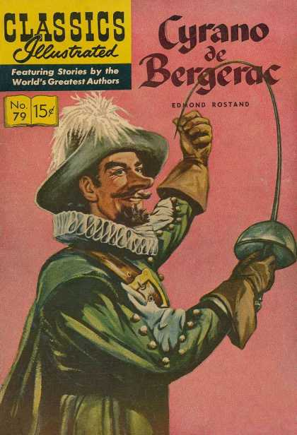 Classics Illustrated - Cyrano de Bergerac