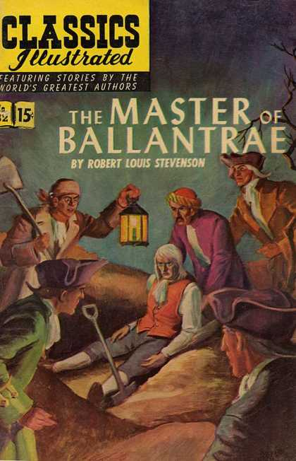 Classics Illustrated - The Master of Ballantrae