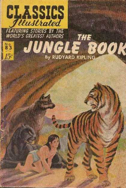 Classics Illustrated - The Jungle Book