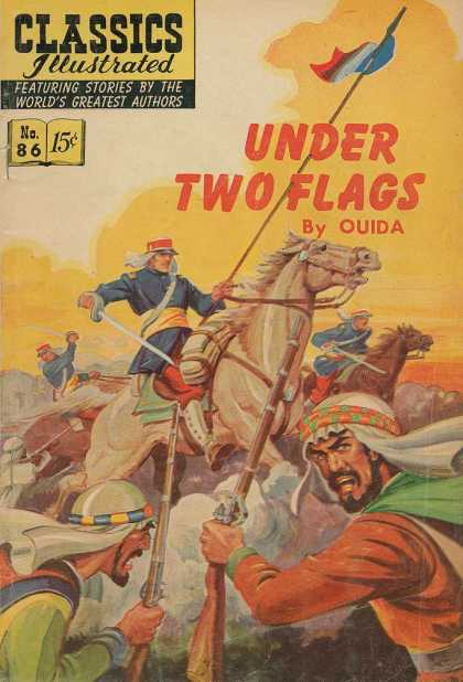 Classics Illustrated - Under Two Flags
