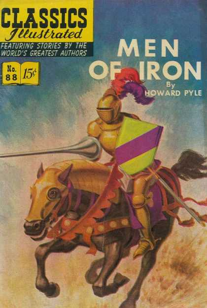 Classics Illustrated - Men of Iron - Men Of Iron - Howard Pyle - Knight