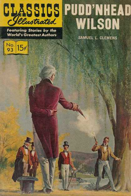 Classics Illustrated - Pudd'nhead Wilson